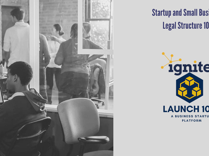Startup and Small Business Legal Structure 101